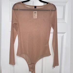 Windsor See-Through Nude Bodysuit